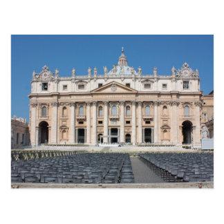Basilica di San Pietro Vatican City Rome Italy Postcard