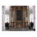 Basilica in Weingarten, Germany Postcard