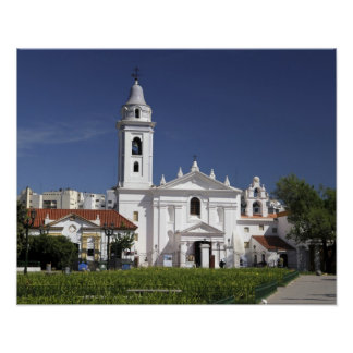 Basilica Nuestra Senora del Pilar in Recoleta 2 Poster