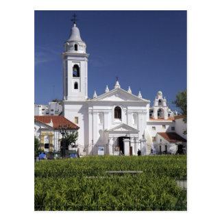 Basilica Nuestra Senora del Pilar in Recoleta Postcard