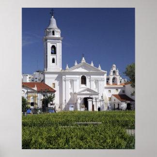 Basilica Nuestra Senora del Pilar in Recoleta Poster