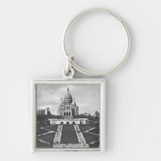 Basilica of Sacre-Coeur Montmartre 1876-1910 Key Chain
