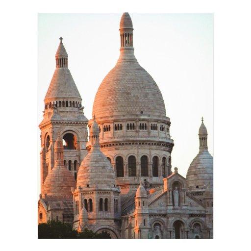 Basilica of the Sacré Cœur, Paris Flyer