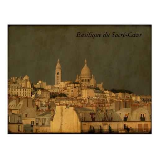 Basilique du Sacré-Cœur Post Card