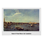 Basin Of San Marco By Canaletto (Ii) Posters