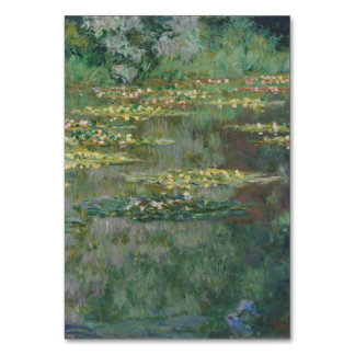 Basin of Water Lilies by Claude Monet Table Cards