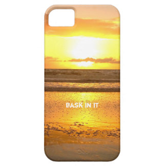 Bask In My Glow Sunset iPhone 5 Covers