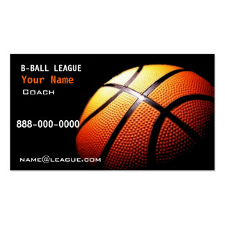 Basket Ball Business Card Template
