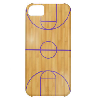 Basket Ball Court Cover For iPhone 5C