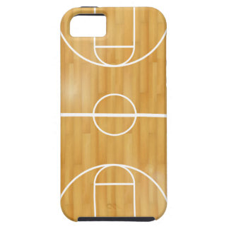 Basket Ball Court iPhone 5 Cover