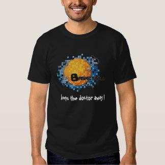 basket ball keeps the doctor away ! t shirts