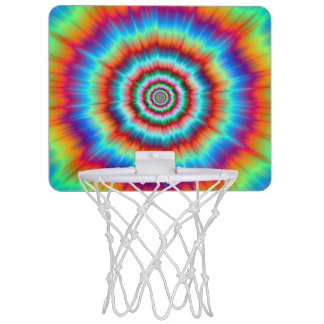 Basket Ball Net  Explosion in Blue and Orange Mini Basketball Hoop