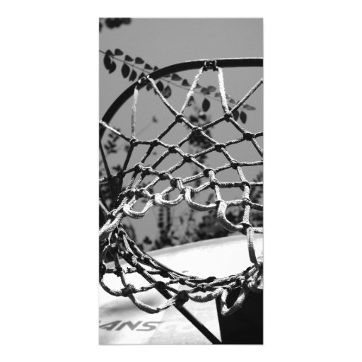 Basket Ball Net Photo Cards