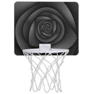 Basket Ball Net   Spiral Labyrinth in Monochrome Mini Basketball Hoop