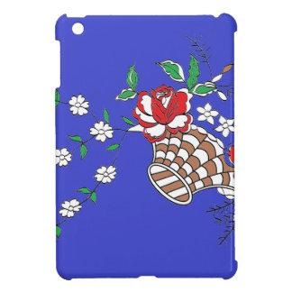 basket blue iPad mini cases