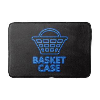 Basket case. bath mat