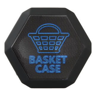 Basket case. black bluetooth speaker