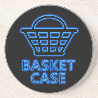 Basket case. coaster