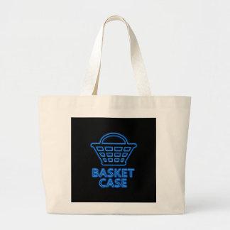 Basket case. large tote bag