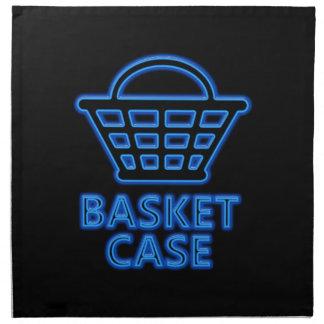 Basket case. napkin