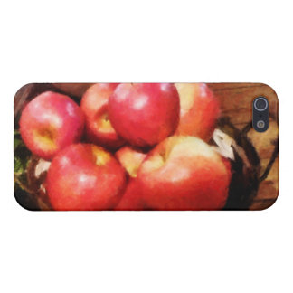 Basket of Apples in Kitchen iPhone 5 Covers