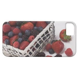 Basket of berries iPhone 5 cases