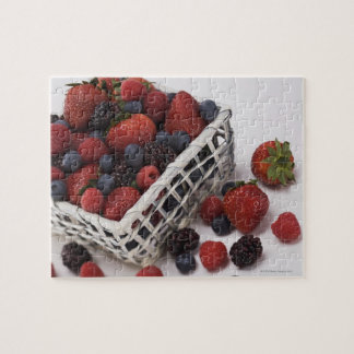 Basket of berries jigsaw puzzle