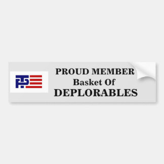 Basket of Deplorables Sticker