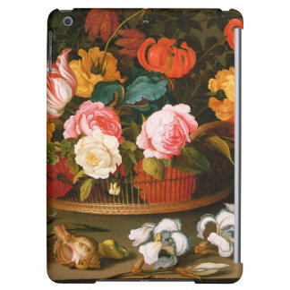 Basket of flowers, 1625 iPad air cover