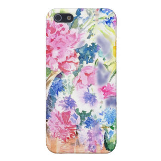 Basket of Flowers Case For iPhone 5/5S