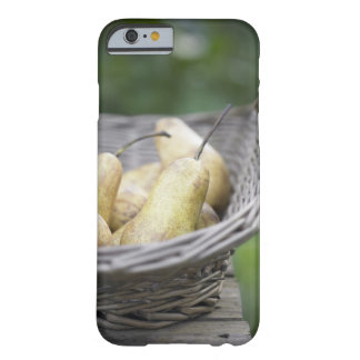 Basket of freshly picked pears. barely there iPhone 6 case