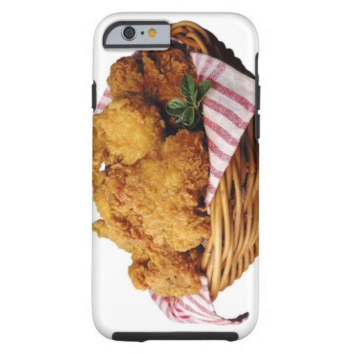 Basket of fried chicken iPhone 6 case