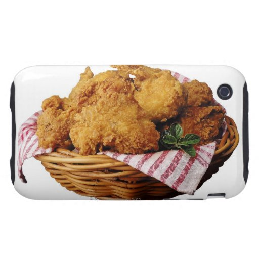 Basket of fried chicken iPhone 3 tough cover