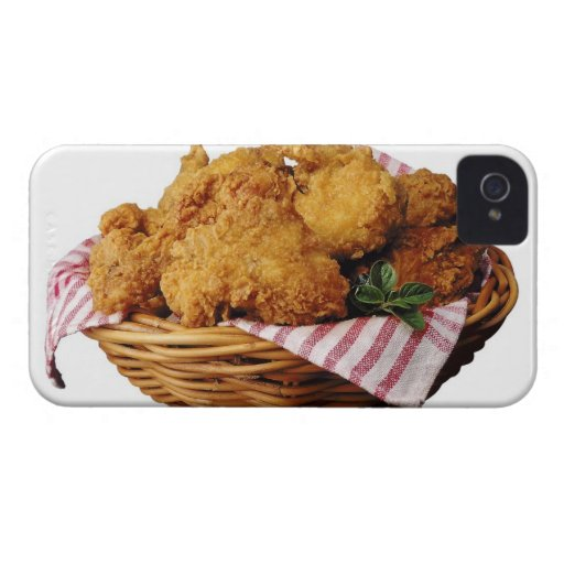 Basket of fried chicken iPhone 4 covers