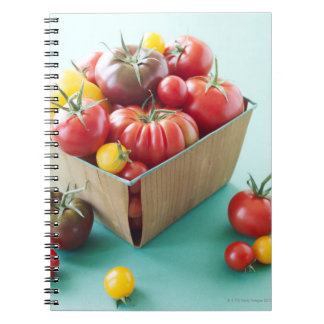 Basket of Heirloom Tomatoes Notebook