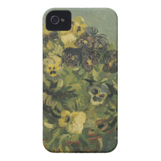 Basket of pansies Barely There™ iPhone 4 iPhone 4 Case-Mate Case