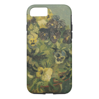 Basket of pansies iPhone 7 case