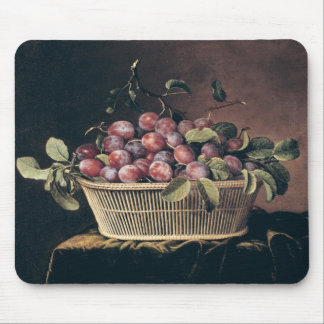 Basket of Plums Mouse Pad