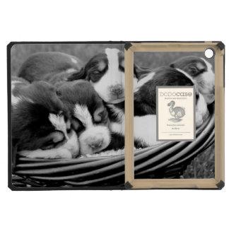 Basket of Puppies iPad Mini Retina Cover