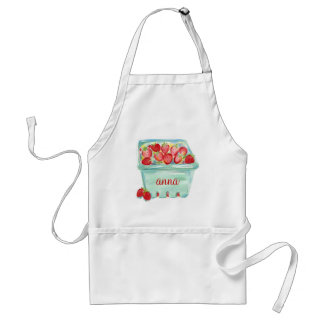 Basket of Strawberries Apron