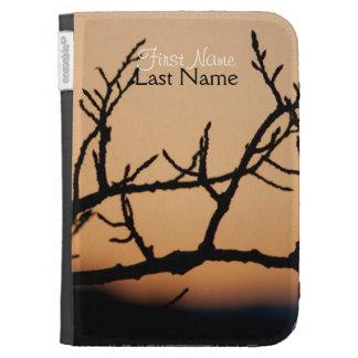 Basket of Sunset; Customizable Kindle Case