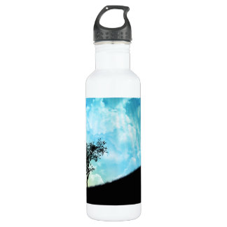 Basket On A Hill #2 710 Ml Water Bottle