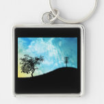 Basket On A Hill #2 Keychain
