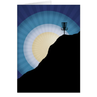 Basket On A Mountain Card