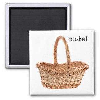 Basket Refrigerator Magnet