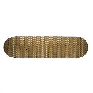 basket structure custom skateboard