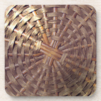 Basket Texture Drink Coasters