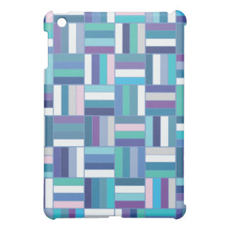 Basket Weave Blue Case For The iPad Mini
