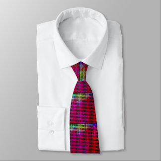 Basket Weave Design Glow In The Dark Tie
