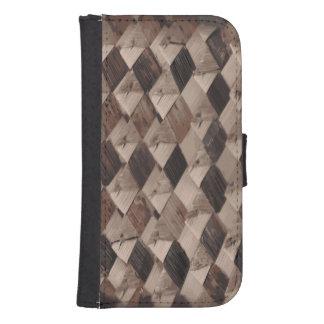 Basket Weave Samsung Galaxy S4 Wallet Case Galaxy S4 Wallets